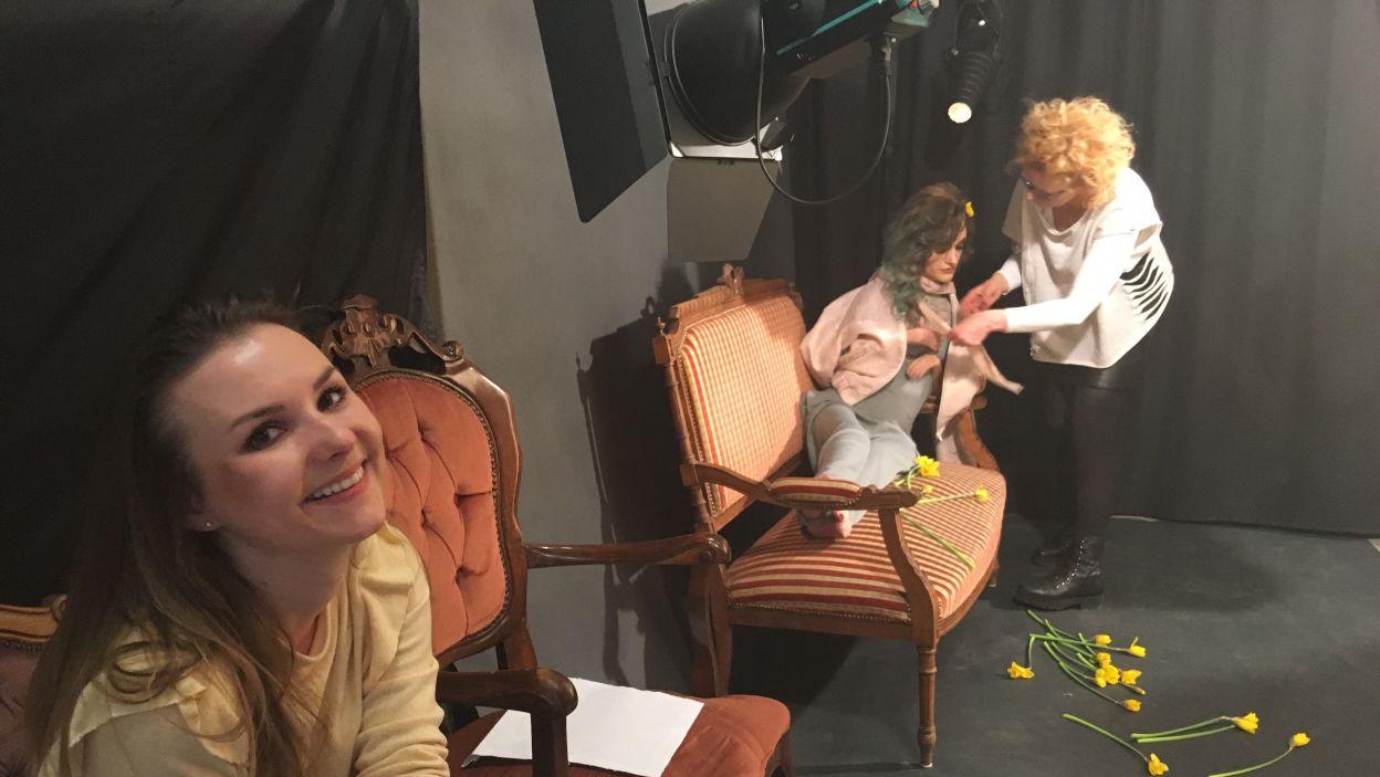 Dzień zdjęciowy w kobiecym gronie (fot. TVP)