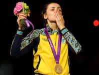 Jana Szemiakina – indywidualna mistrzyni olimpijska w szpadzie (fot. Getty Images)