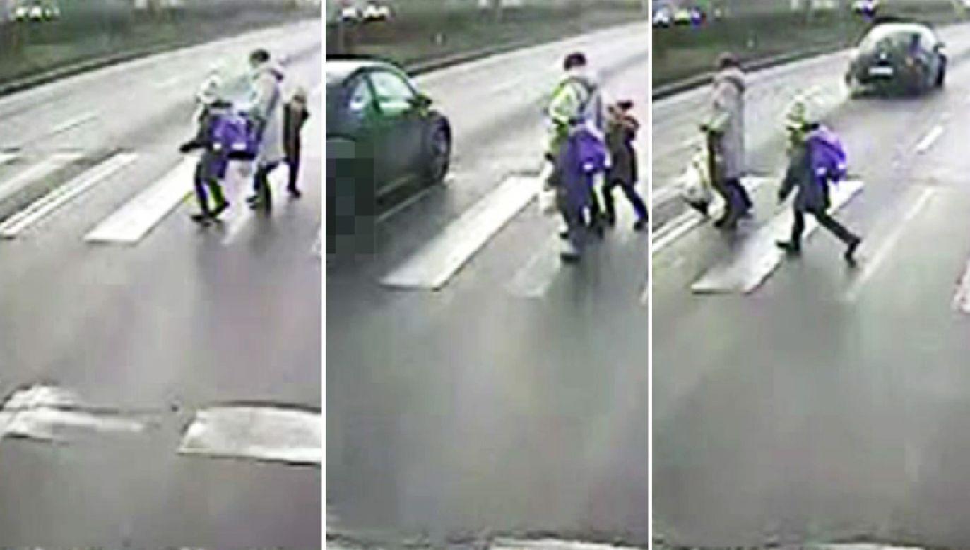 Za wykroczenie, którego dopuściła się kierująca, przewidziana jest kara grzywny do 5 tys. zł. oraz zatrzymanie prawa jazdy na czas do 3 lat (fot. mazowiecka.policja.gov.pl)