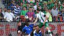 Shay Given był bez szans po strzale Balottelego (fot. Getty Images)