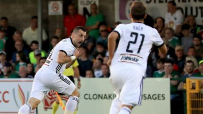 Piłka nożna. Eliminacje Ligi Mistrzów: Legia Warszawa – Cork City