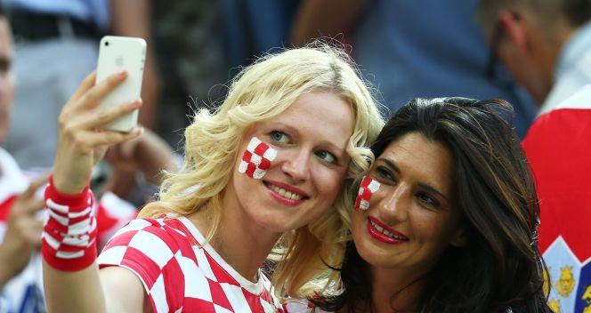 Fanki reprezentacji Chorwacji (fot. Getty)