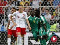 Skrót meczu Polska – Senegal