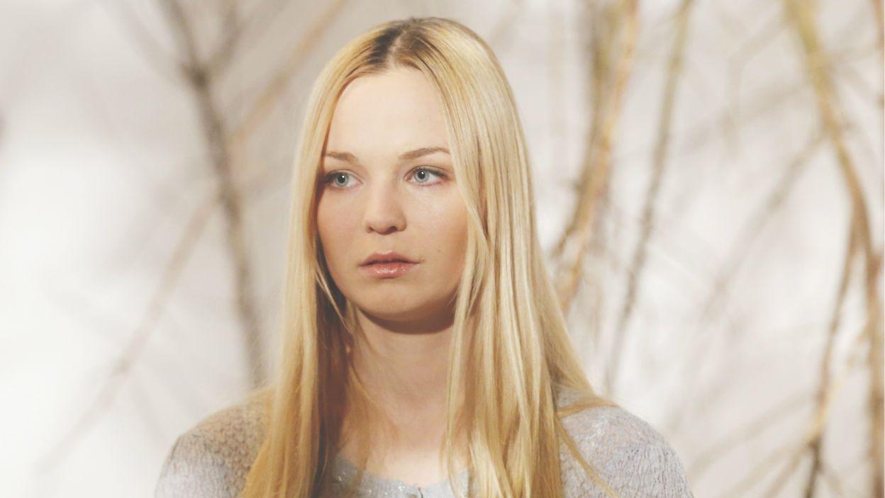 Pojawienie się Claudii zmienia również życie córki Victorii i George'a. W postać Sophie wcieliła się Michalina Łabacz (fot. N. Młudzik TVP)