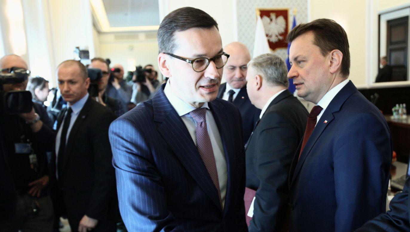 50 proc. Polaków  jest zadowolonych z faktu, że na czele rządu stoi Mateusz Morawiecki (fot. PAP)