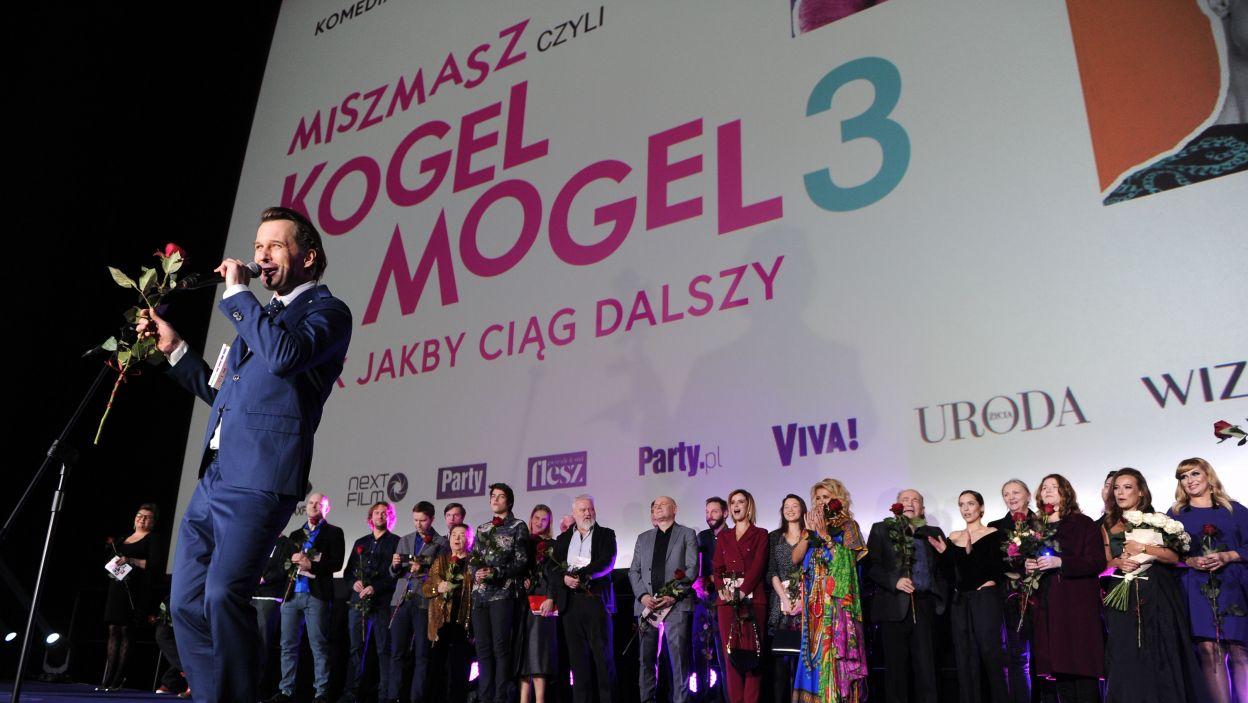 Jak również reżyser Kordian Piwowarski, który miał niezwykle trudne zadanie wejścia w buty Romana Załuskiego. Czy mu się to udało, będziemy mogli się przekonać już 25 stycznia w kinach (fot. N. Młudzik/TVP)