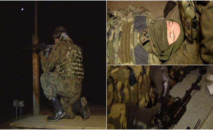 Ponad 400 żołnierzy ćwiczyło strzelanie w nocych warunkach