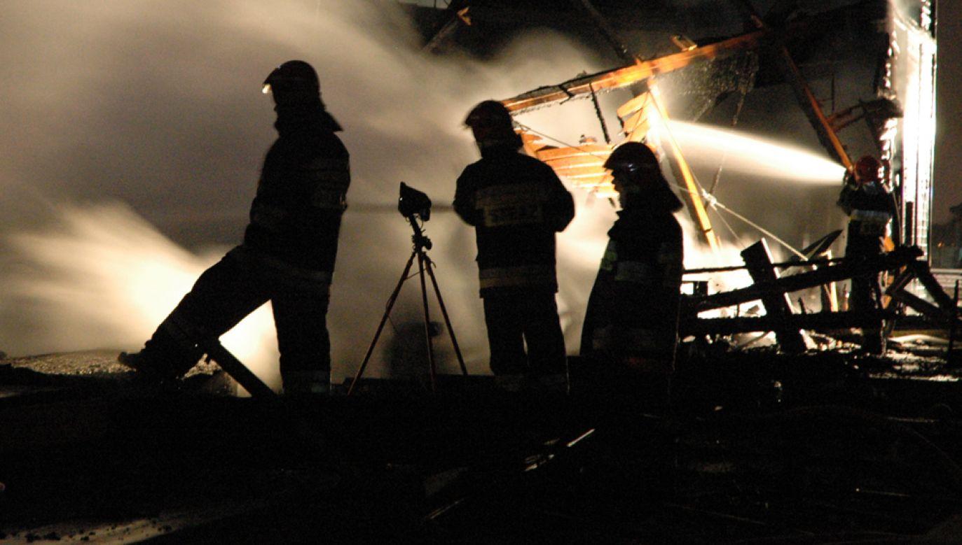 Pożar wybuchł w nocy z piątku na sobotę (fot. Arek/flickr)