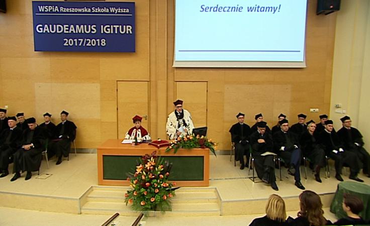 Inauguracja nowego roku akademickiego na WSPiA