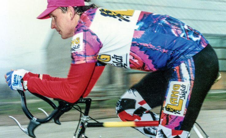Rower, bieganie i pływanie to w pewnym momencie było całe życie dla Jerzego Górskiego (fot. arch. prywatne)