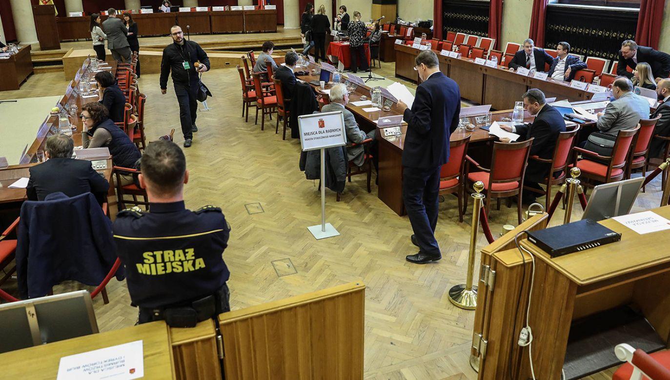 Większość w Radzie Warszawy ma Platforma Obywatelska (fot. arch. PAP/Rafał Guz)
