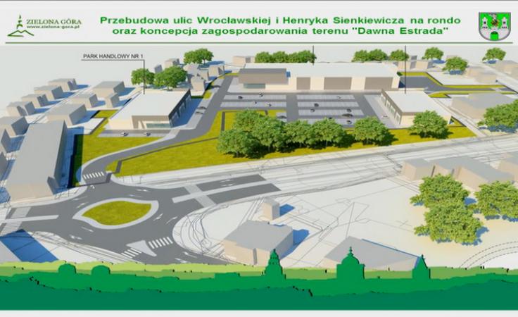 Nowy park handlowy i rewitalizacja Placu Powstańców Wielkopolskich