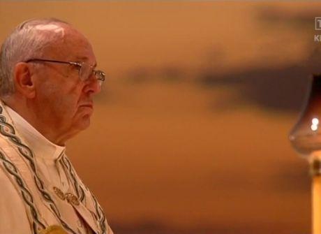 Czuwanie z papieżem w Brzegach