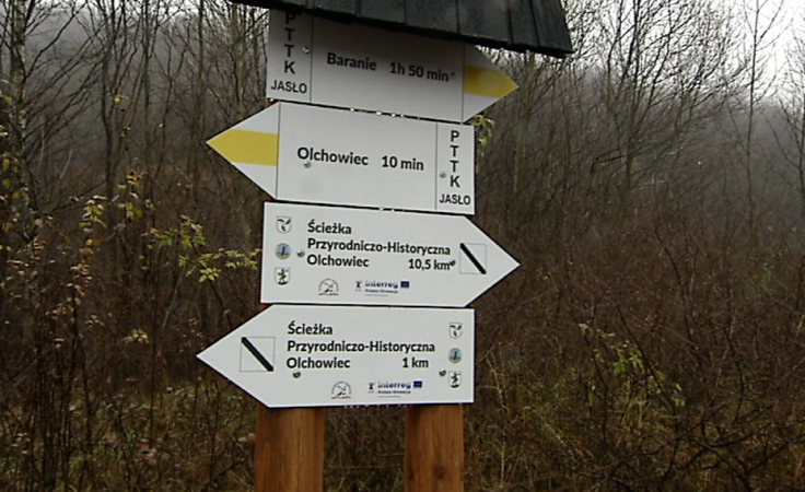 Ścieżka przyrodniczo-historyczna w Olchowcu koło Dukli