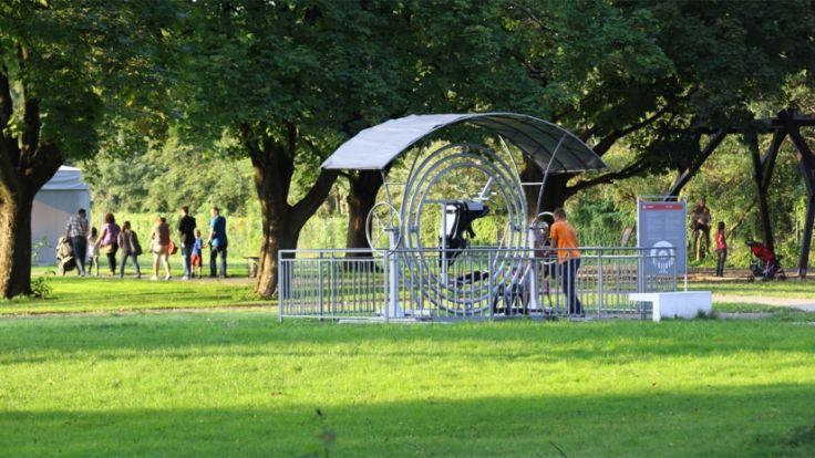 Zimowy Ogród Doświadczeń zajmie teren Ogrodu Doświadczeń, prowadzonego przez Muzeum Inżynierii Miejskiej w Nowej Hucie. Fot. ogroddoswiadczen.pl