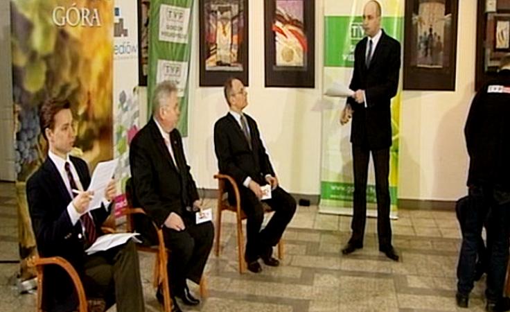 Debata telewizyjna kandydatów do Rady Miasta