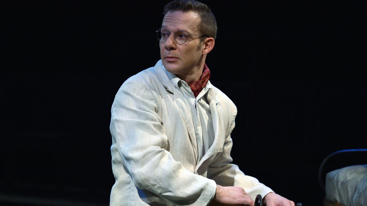 Grzegorz Małecki zagrał Albina, od lat wzdychającego do Klary (fot. I. Sobieszczuk)