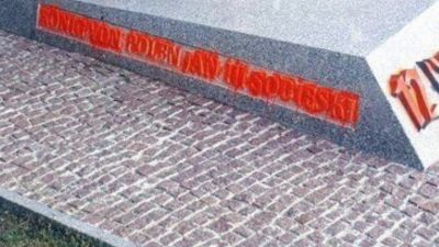 a7e83b35fc4e Austria  zatrzymanie po zbezczeszczeniu pomnika na wzgórzu Kahlenberg Do  zdarzenia doszło prawdopodobnie w piątek. Nieznani sprawcy namalowali  ordynarny ...