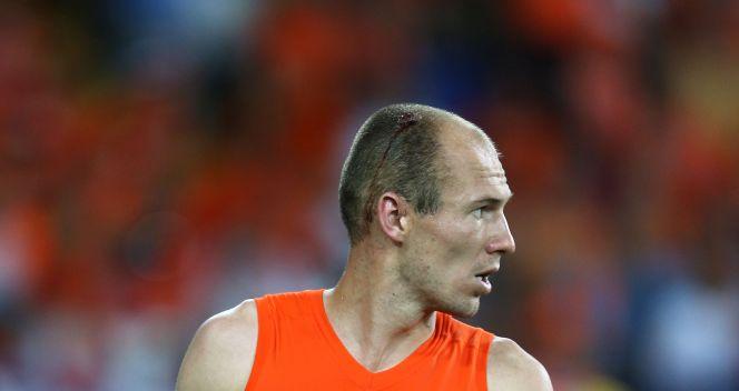 Arjen Robben nie był w stanie pomóc swojej drużynie (fot. Getty Images)