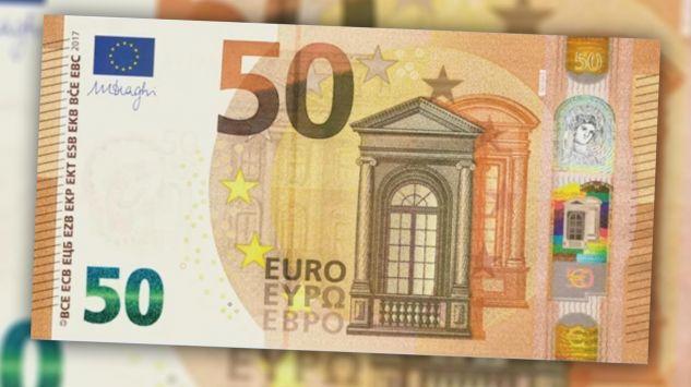 Ebc zaprezentowa nowy banknot 50 euro for Sessel 50 euro