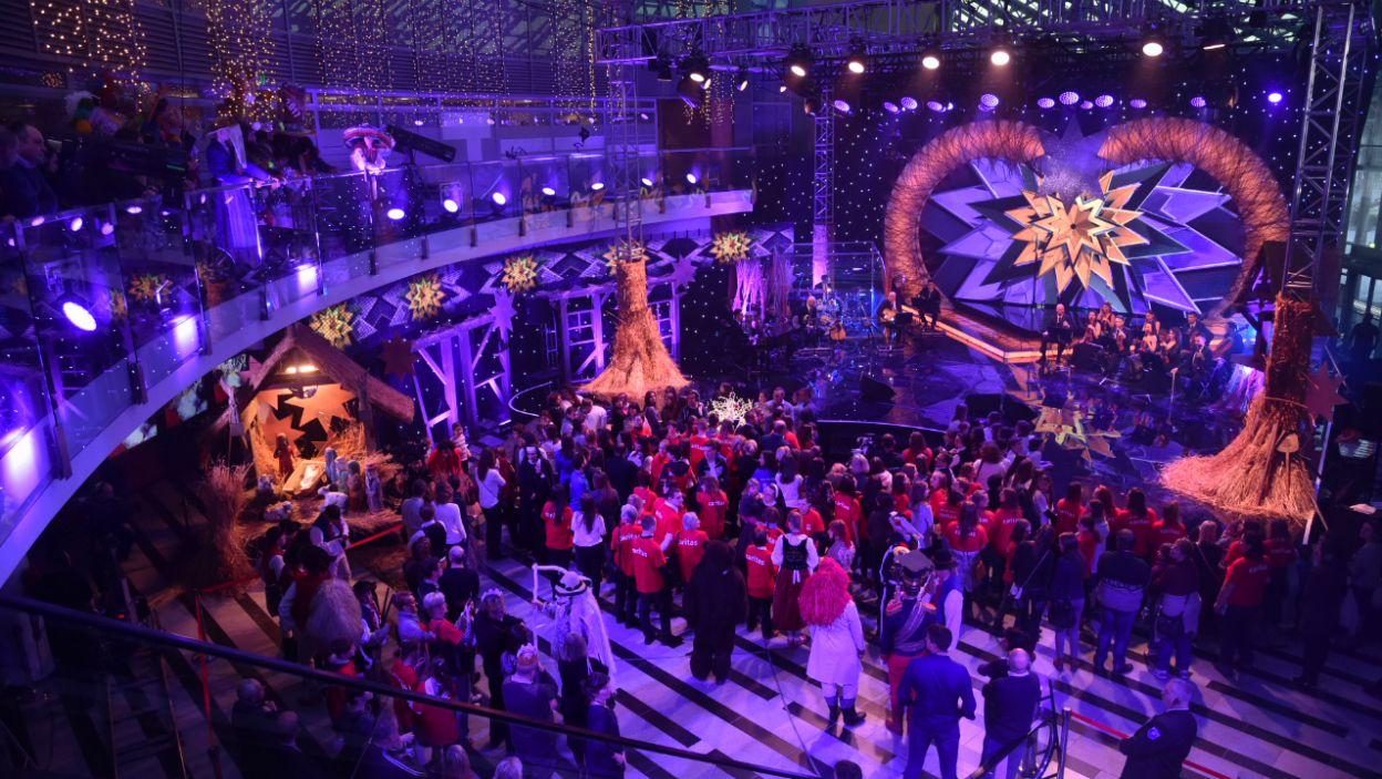 Podczas imprezy zostały podsumowane akcje charytatywne, w których udział brała ostatnio Telewizja Polska (fot. I. Sobieszczuk/TVP)