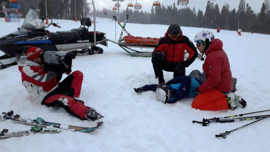 Kręcimy odcinek o bezpieczeństwie na stokach narciarskich (fot. mmas)