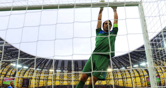 Buffon od 2001 roku strzeże bramki Juventusu Turyn (fot. Getty Images)
