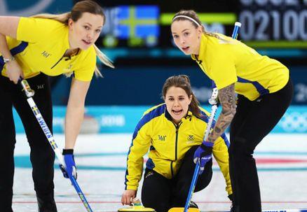 Curling: pierwsza porażka Szwedek. Awans Koreanek