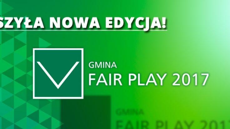 """XVI edycja """"Gmina Fair Play"""""""