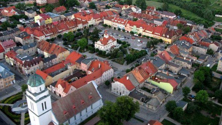 Stare miasto w Działdowie (fot. wikimedia.org/Adam Nowakowski)