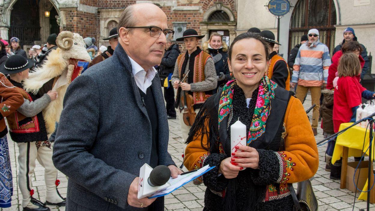 W niedzielę 11 grudnia reporterzy TVP relacjonowali przebieg akcji z Krakowa, Szczecina, Wrocławia i Olsztyna (fot. Caritas)