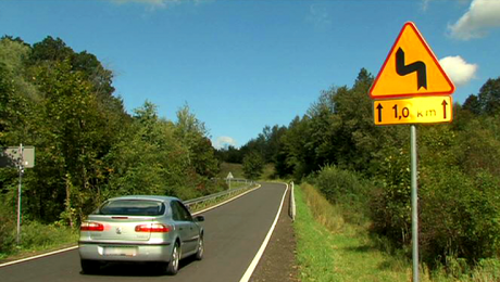 Droga z Wietrzna do Dukli już przebudowana
