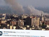 Dwa pociski trafiły w rosyjską ambasadę w Syrii. Ławrow: to akt terrorystyczny