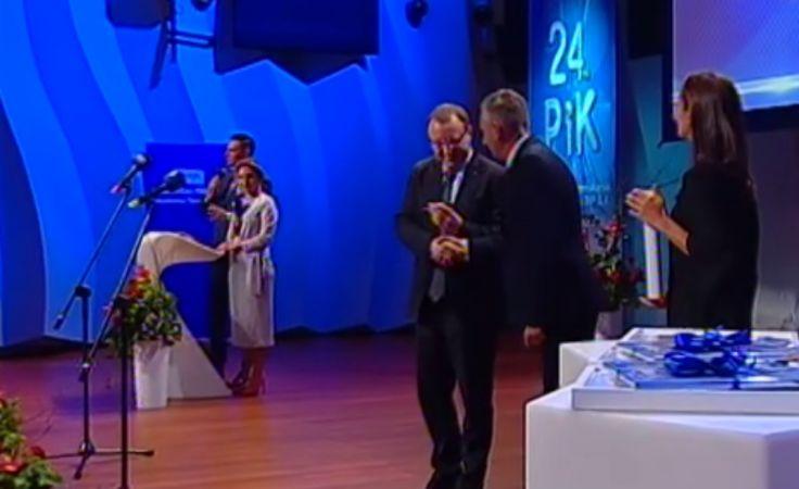 Dziennikarze TVP3 Bydgoszcz z nagrodami