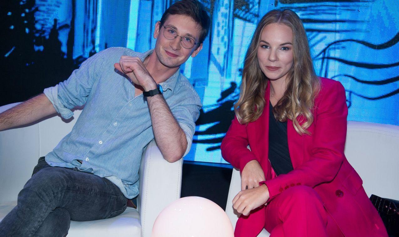 Równie imponująco zagrali Mateusz Korsak i Hanna Wojak (fot. TVP)