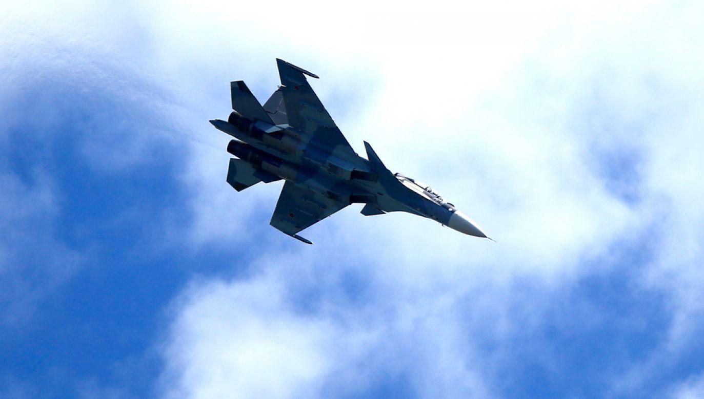 Rosjanie przeprowadzili ćwiczenia symulujące ataki w przestrzeni powietrznej Morza Czarnego i Azowskiego (fot. Sefa Karacan/Anadolu Agency/Getty Images)