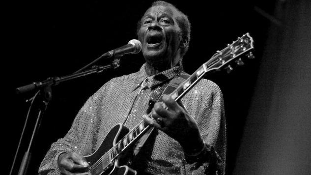 Chuck Berry miał 90 lat (fot. PAP//EPA/WALTER BIERI)