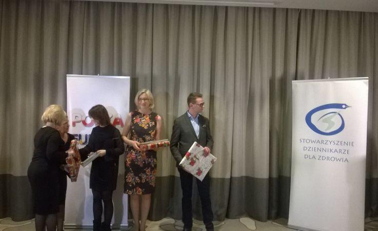 Krystyna Rymaszewska odebrała nagrodę na gali w stolicy