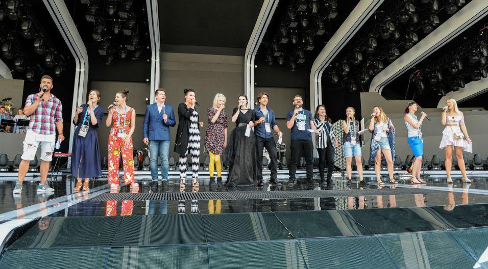 Będzie także okazja, by zaśpiewać jednym głosem (fot. TVP)