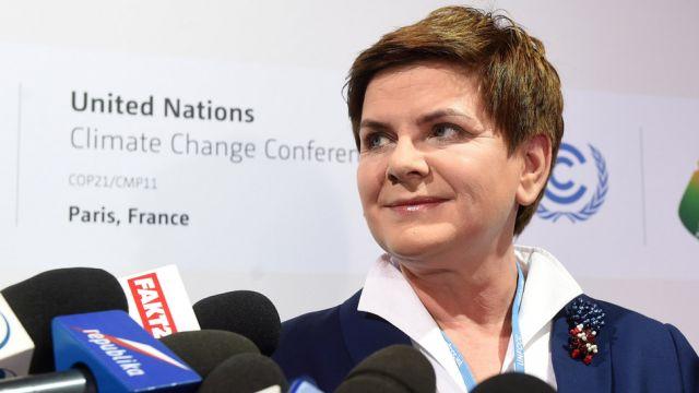 Szydło: porozumienie klimatyczne muszą podpisać wszystkie państwa