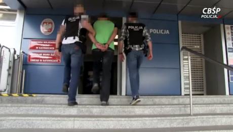 W sumie w ręce policji trafiło 17 osób (fot. cbsp.policja.pl)