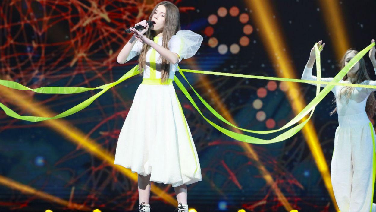 Roksana Węgiel wystąpiła na próbie przed niedzielnym finałem (fot. Andres Putting/Eurovision)