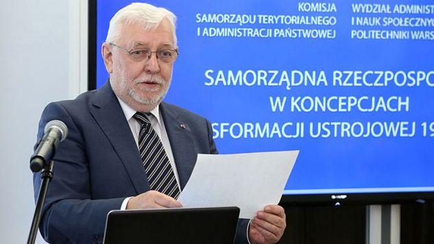 Sędzia w stanie spoczynku Jerzy Stępień (fot. Wikipedia/Michał Józefaciuk)