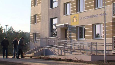 TTBS oddal blok komunalny przy Poznańskiej