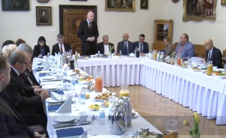 Posłowie z prezydentem wspólnie o sprawach regionu