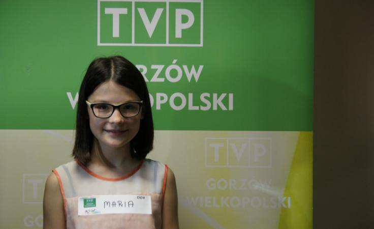 11-letnia Marysia Mędryk poprowadzi Informacje Lubuskie