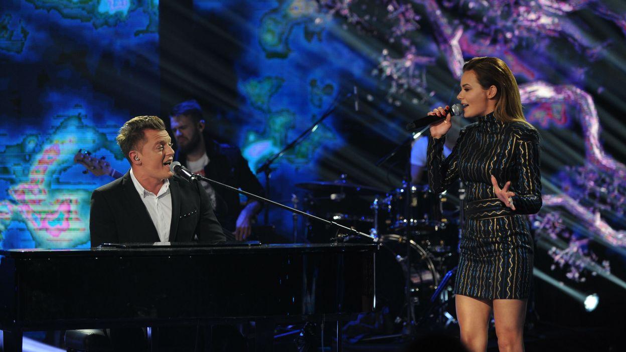 Gwiazdami wieczoru byli Rafał Brzozowski i Natalia Szroeder (fot. Natasza Młudzik/TVP)