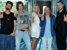 """Trenerzy """"The Voice of Poland"""" w komplecie (fot. J. Bogacz/TVP)"""