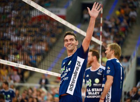 Gwiazdy All Star Volley Show zagrały w Łodzi