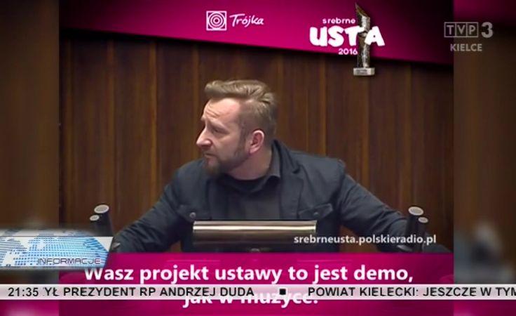 Poseł Piotr Marzec, Liroy.